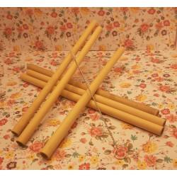 Pailles en bambou (6) et...